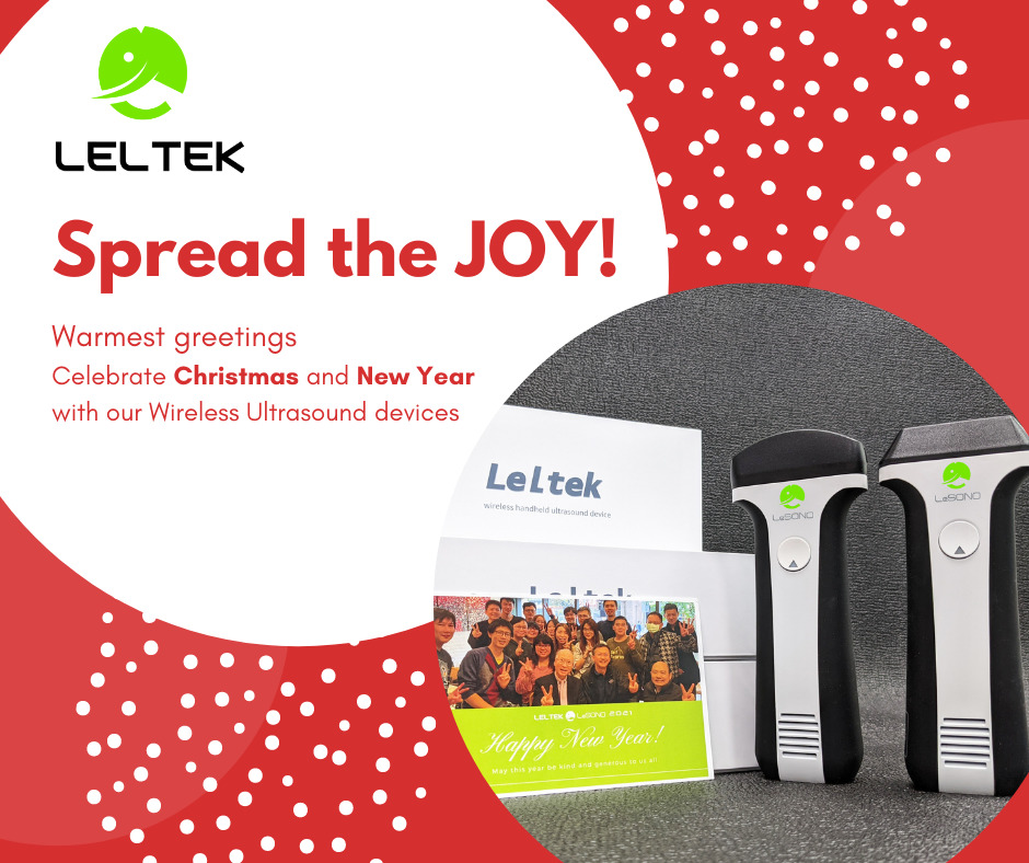 Leltek spread the joy with the wireless ultrasound devices